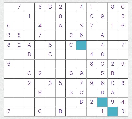 12x12 Giant Sudoku puzzle