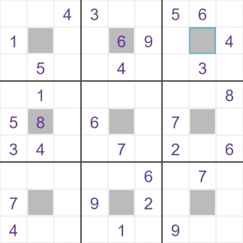 Center Dot Sudoku puzzle