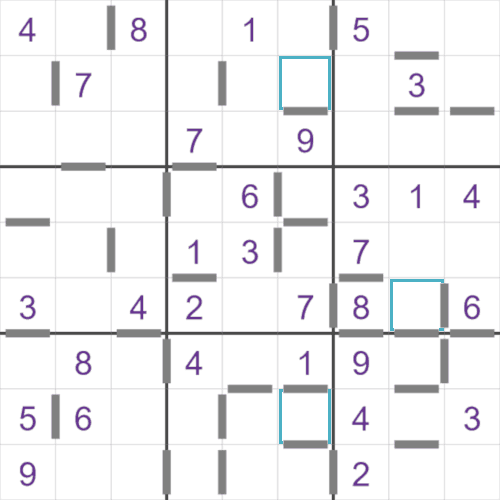 Consecutive Sudoku puzzle