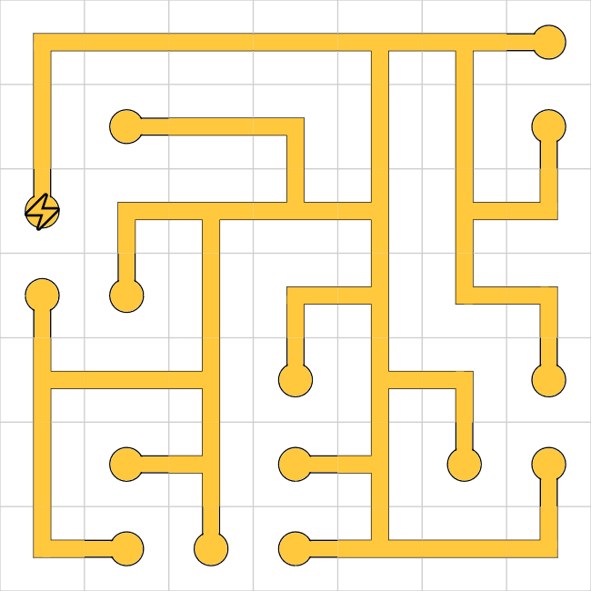 Network puzzle