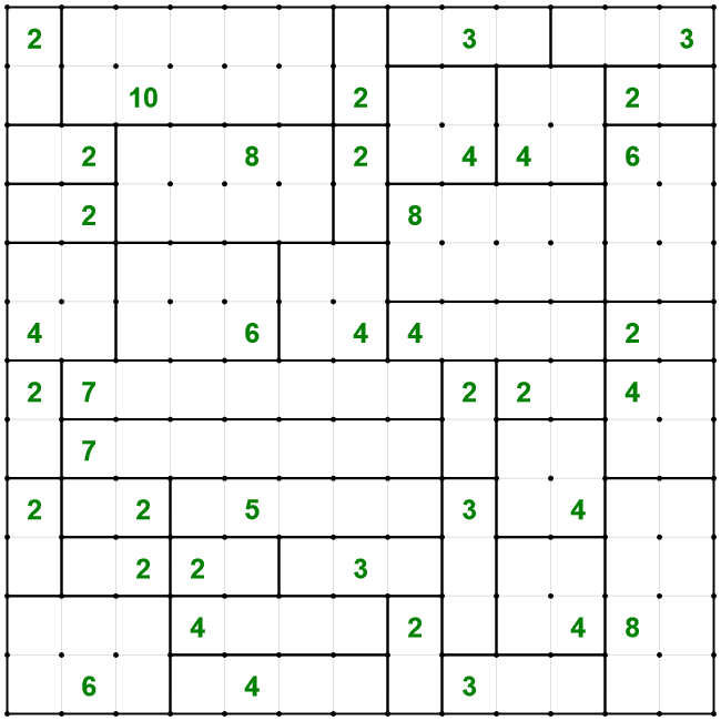 Cell Blocks puzzle solution