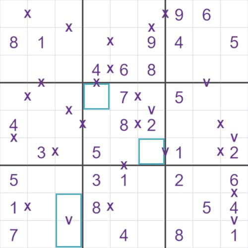 SudokuXV puzzle